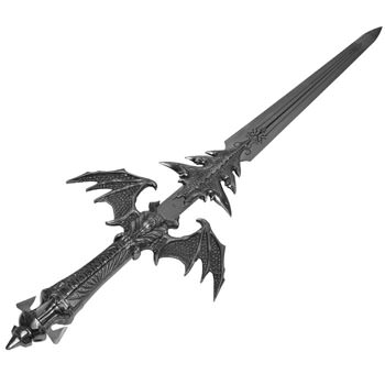 Demon Rising Battle Sword 47&quot; winged bat