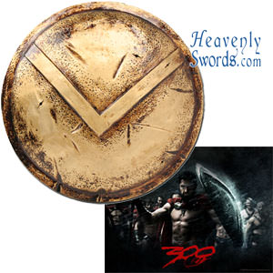 300 - Spartan Warrior Shield aluminum 24""