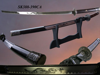 Samurai Sword w/Mirror Finish 39""