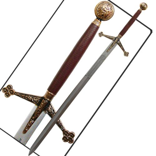 Royal Claymore Sword with Sheath 57""