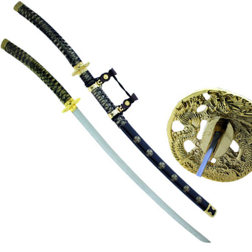Black Dragon Katana Sword of Dark Malice