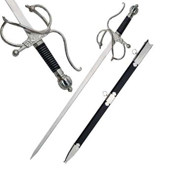 EL CID RAPIER SWORD 37&quot; and Scabard