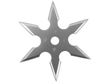 "Stainless 3"" Throwing Star"