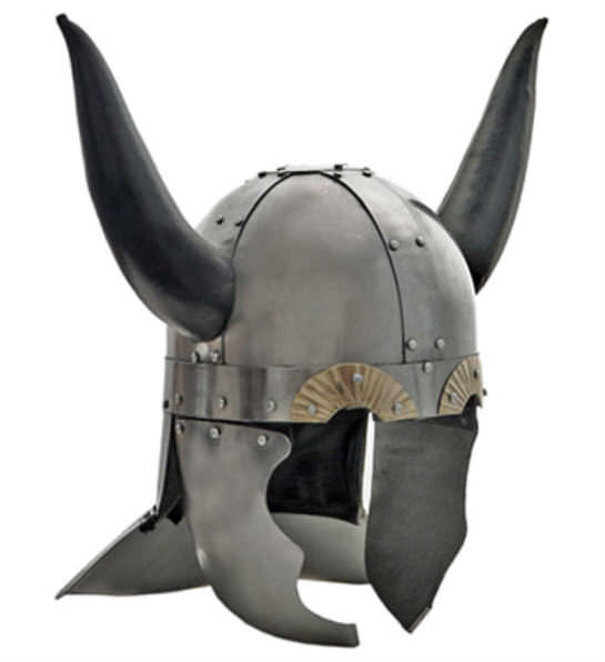 Viking Horned Helmet 17 1/2""