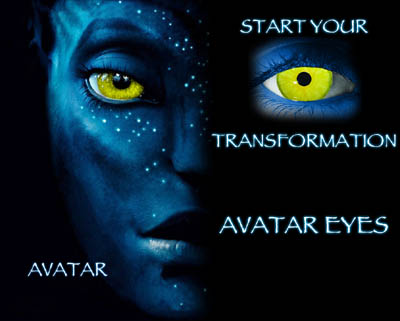 Avatar -Custom Lenses - Non Prescription (PAIR)