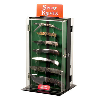 Knife Display Case for 18 Knives