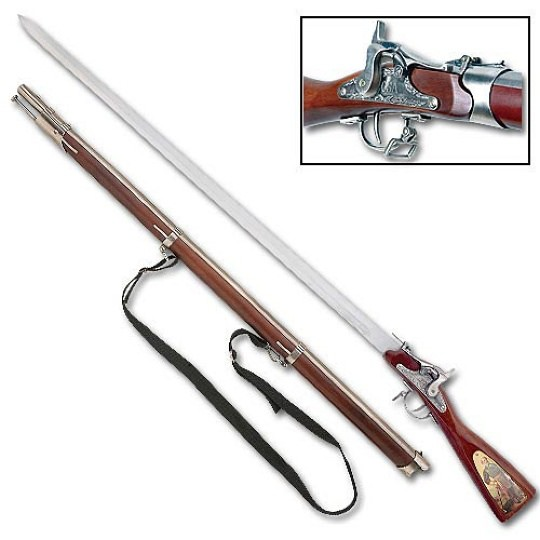 General Robert E. Lee Rifle Sword