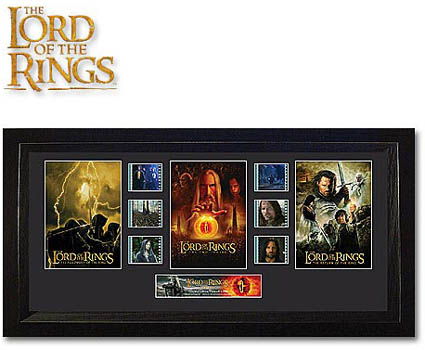 The Lord of the Rings Trilogy Limited Edition Film Cells LOTR