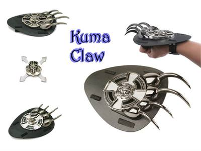 Kuma Claw and throwing star 9 1/4""