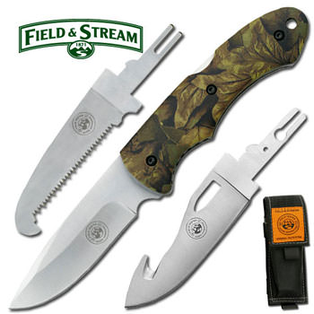 Field and Stream 3 Blade Interchangeable Knife