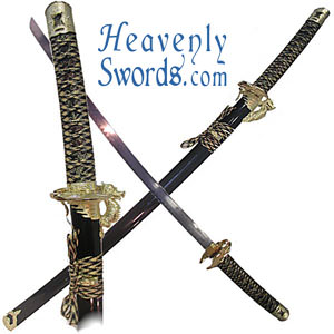 Custom Zanpakuto release for arrancar Flying-Gold-Dragon-Katana-20-9274BK