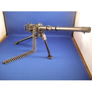 BROWNING M2 Machine Gun Model .50 Cal Small Scale Replica