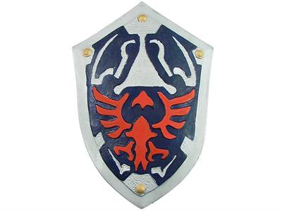 Legend of Zelda Larp Shield, Dense Latex 20&quot;