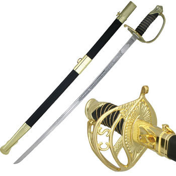 """C.S.A. 'CONFEDERATE' OFFICERS SABER 37"""""""