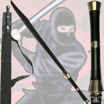 Skull handled Ninja Sword 31""
