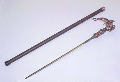 Reign Of The Dragon Sword Cane 36""