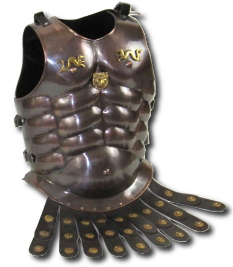 Antiqued Bronze Royal Muscle Armor