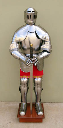 Full Suit of Medieval Armor 75""