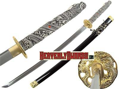 Highlander Green Dragon Katana 40""