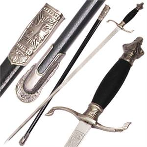Knights Sword Crusader S Guard Rapier 38 1/2""