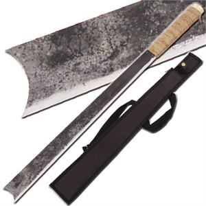 Amazon Antiqued Jungle Machete 28 1/4""