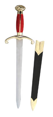 Royal Lion Dagger with Sheath 15""