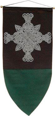 Celtic Cross Banner 48""
