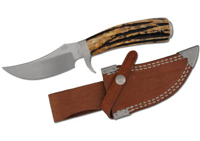 """Blesbok -Rock Creek Skinner with a Trailing Point Style Blade 8 3/4"""""""