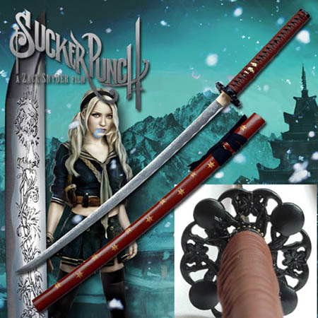 Zack Snyder&#039;s Sucker Punch Babydoll Katana 41 1/2&quot;