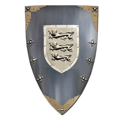 Medieval Knights Of The Shield Armor 28""