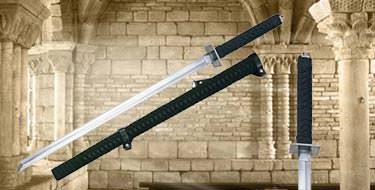Fully Functional Ninja Swords with Scabbard 38""