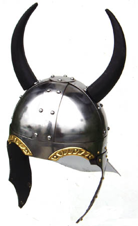 Viking Helmet with Horns 15&quot;