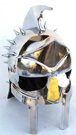 "Roman Gladiator ""Maximus"" Helmet With Spikes"