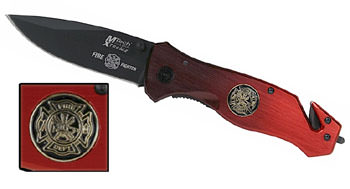 Mtech Extreme Firefighter Knife 8""