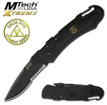 MTech Xtreme Delta Five Combat Series Folding Knife