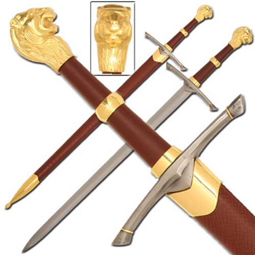Chronicles of Narnia Peters Sword with Sheath