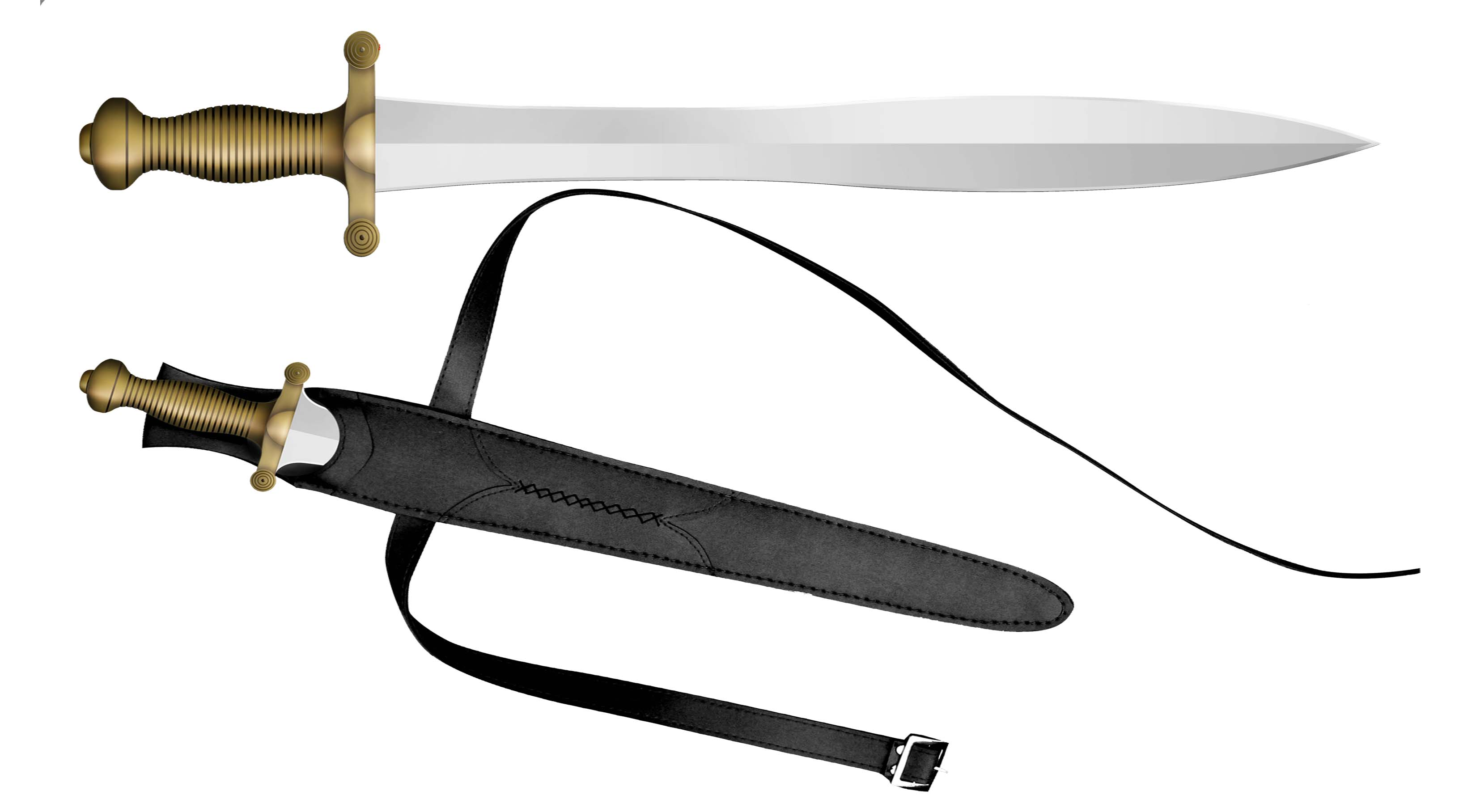Immortals Movie - Theseus Sword with Scabbard 19""