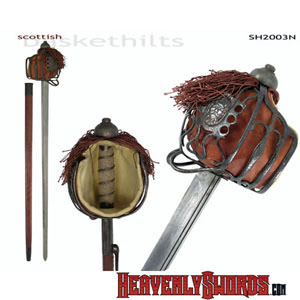 Basket-Hilt Backsword - Antiqued