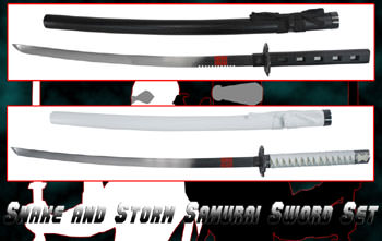 Snake & Storm Samurai Sword Set Combo (Limited Production)