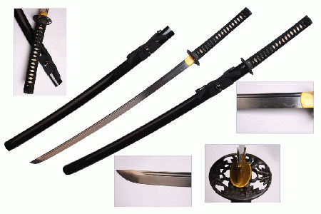 Musashi SS806Bk Hand Forge Samurai Sword 40 1/2&quot;