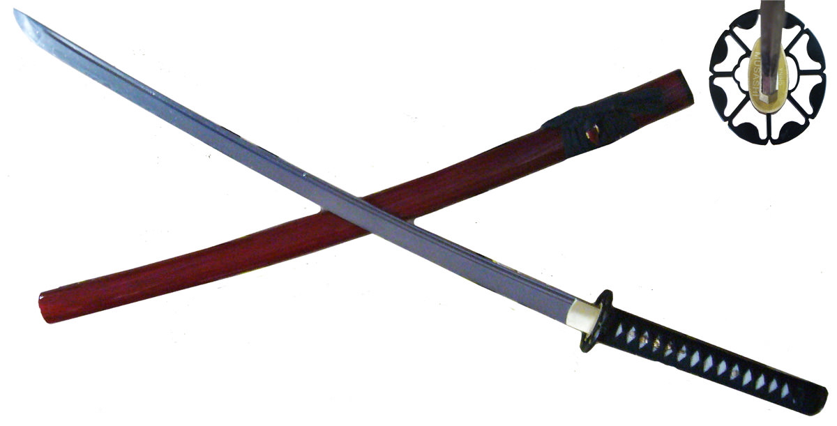 Hand Forge 1060 Carbon Steel Samurai Sword 40 1/2""
