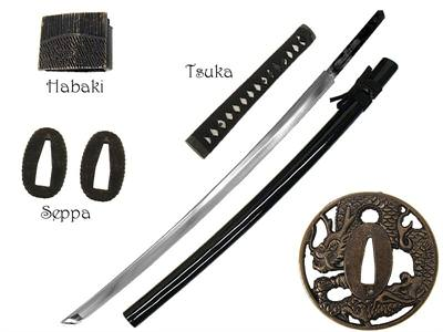 Assemble Your Own Firey Dragon Katana