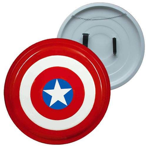 Captain America Superhero Shield Comic Movie, Steel 26""