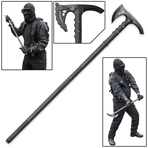 Anti-Personnel Tactical Riot Axe w/ Sheath
