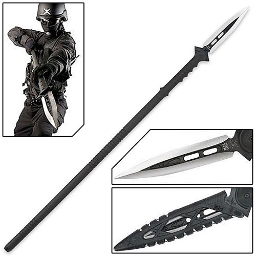 Anti-Personnel Tactical Riot Spear w/ Sheath