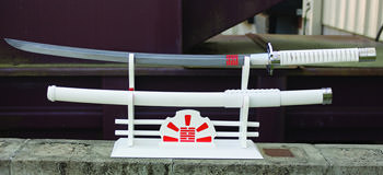 "GI Joe Storm Shadow Damascus 38 1/4"" Katana"