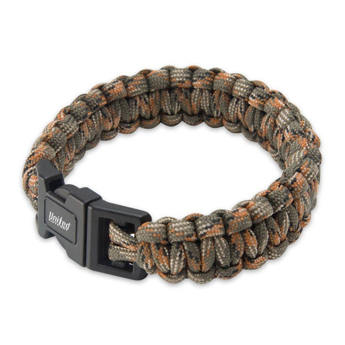Camo Elite Forces Survival Bracelet 9""