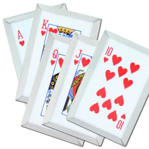 Gambit's Royal Flush Hearts Throwing Card 5 pieces Set