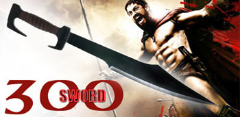 300 Movie - Spartan Warrior Sword W/ Sheath