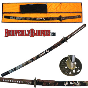 Musashi Hand Forged Dragon Katana
